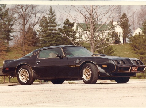 Dad's '79 Special Edition Trans Am