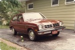 Mom owned this Chevette for 12 years.