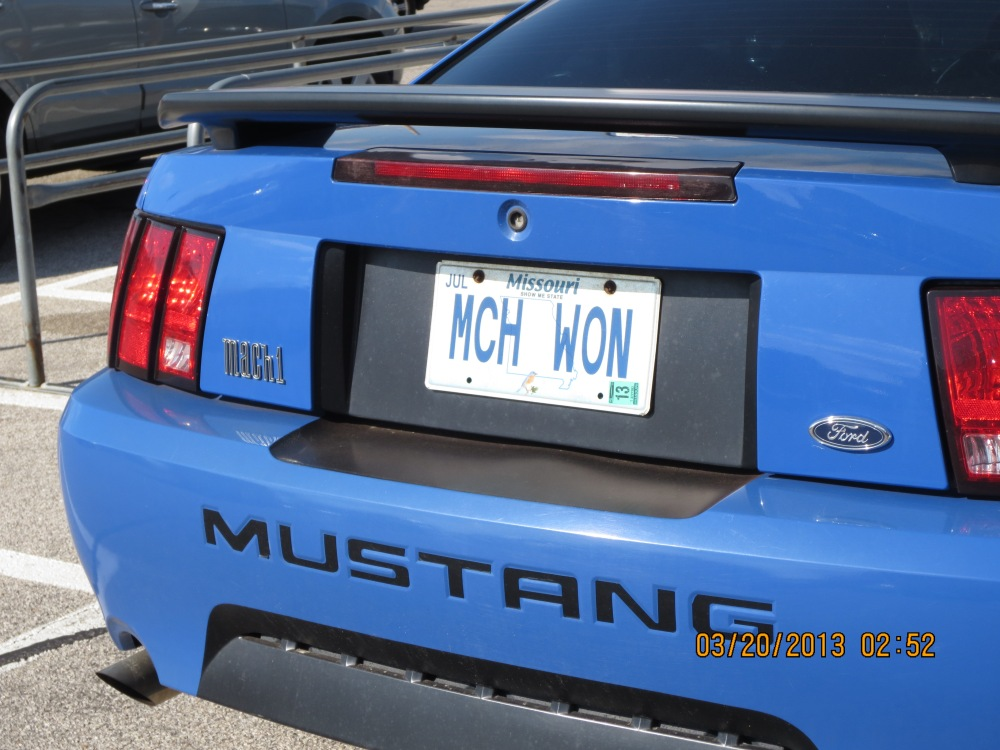 Mach 1...Plate of the Week  (3/3)