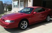 Lazer Red 1995 GT