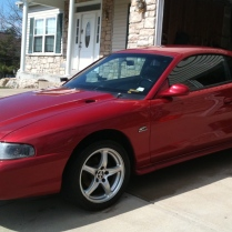 Lazer Red 1995 GT