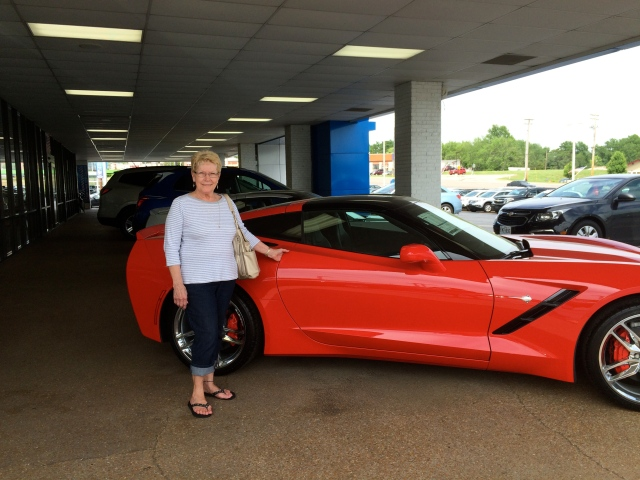 The woman is far more amazing the car!