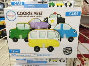 Cookie Cutters with Wheels