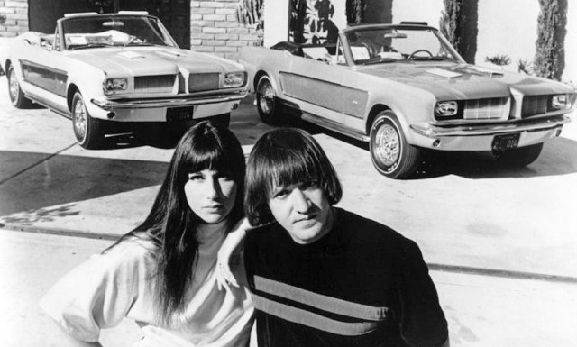 Sonny_and_Cher_Mustangs
